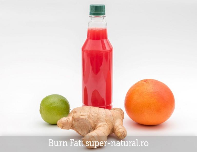 Suc natural Burn Fat SuperNatural Brasov