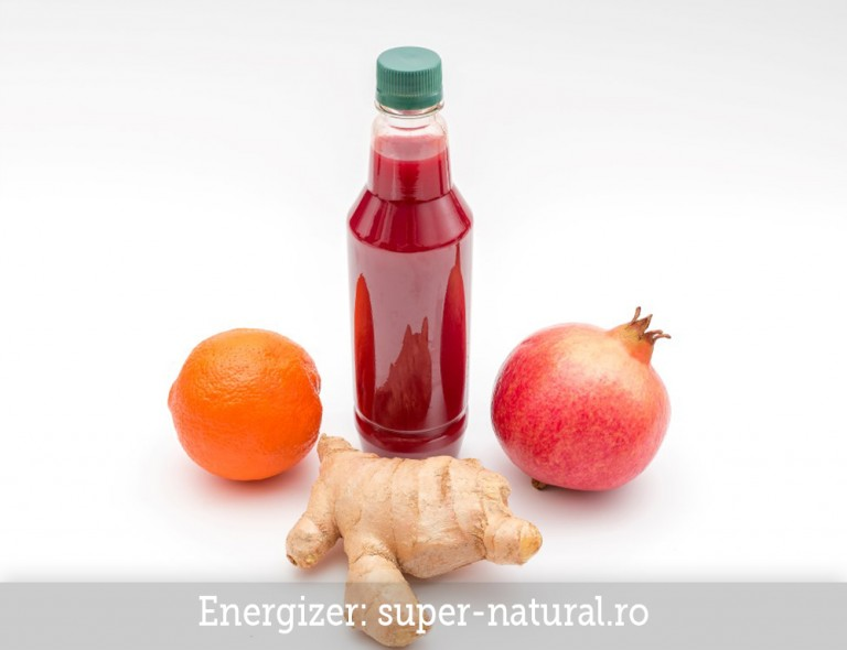 Suc natural Energizer SuperNatural Brasov