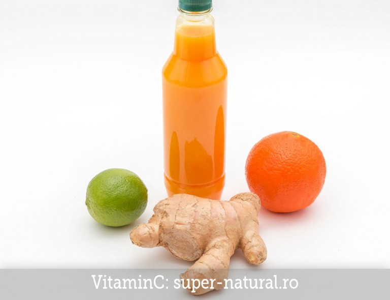 Suc natural Vitamina C SuperNatural Brasov